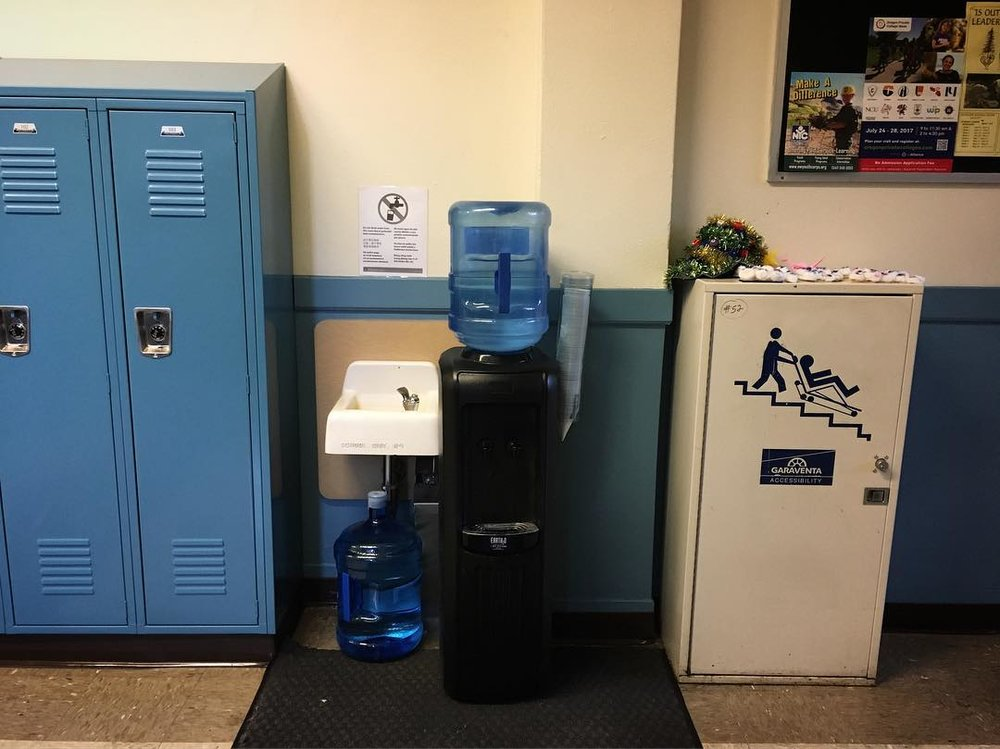 Water Fountains at NW Portland's Metropolitan Learning Center (MLC) have been closed due to the presence of lead in the water.