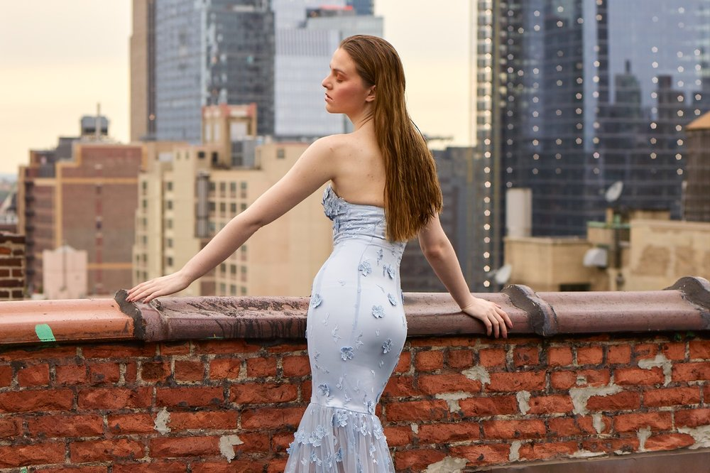 "5280 Magazine - August 2018""The young designer's custom-made bridal and special occasion wear, which is produced right here in the Mile High City, will be gracing the runways at both Denver Fashion Week and…"""