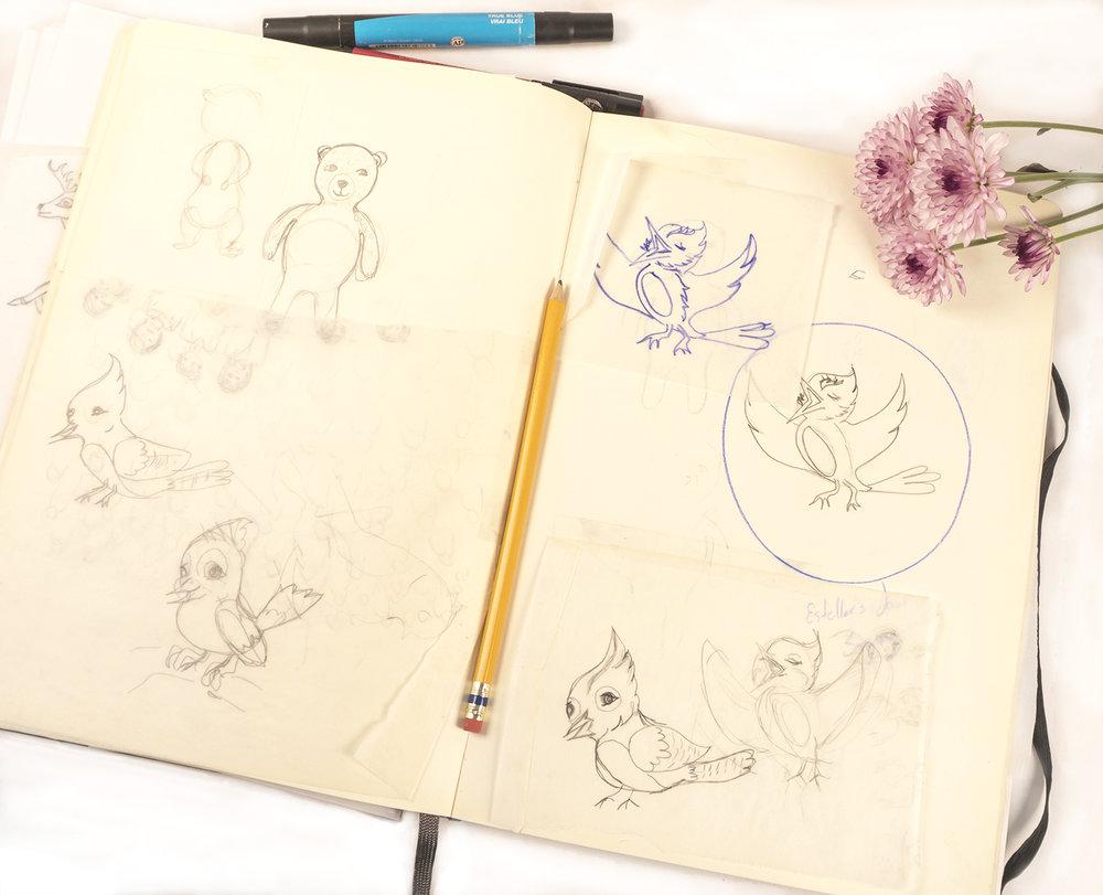 Osamina's best friend sketch