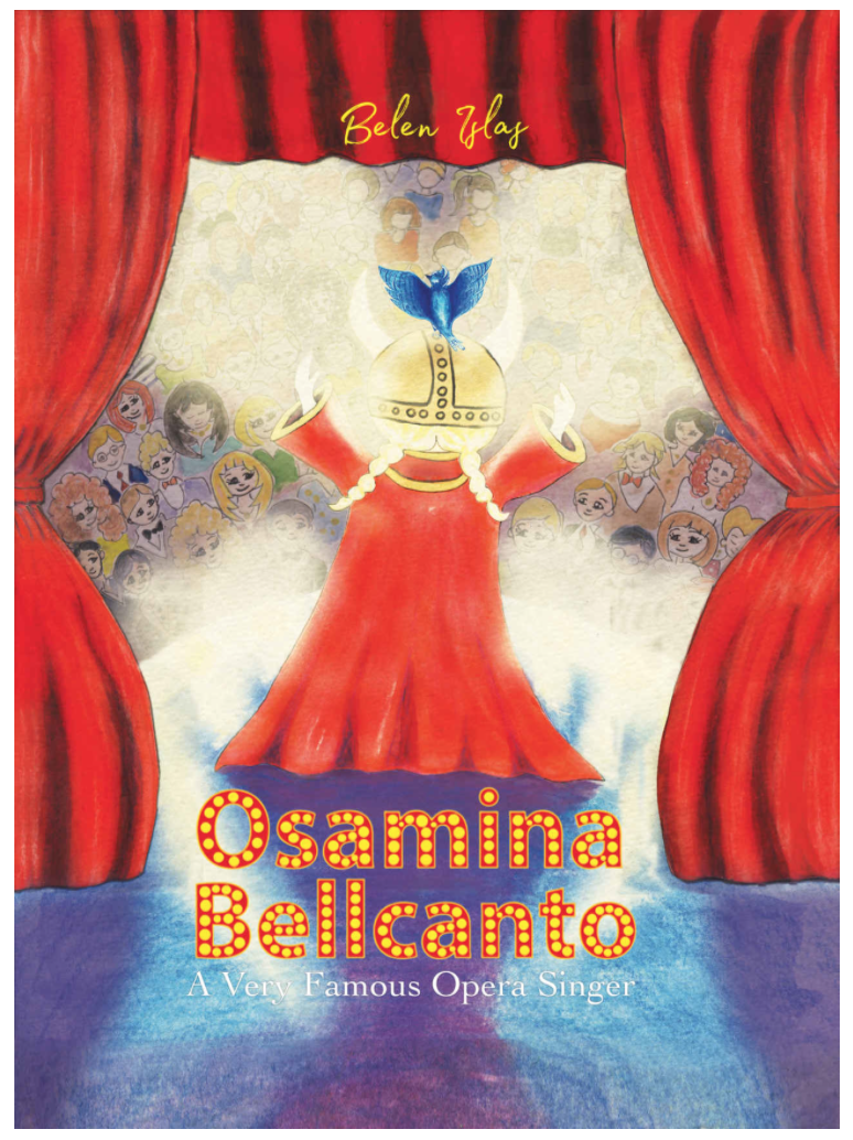 Osamina Bellcanto has arrived! Please help us make Osamina's dream come true. Please spread the word. You can buy the book here.
