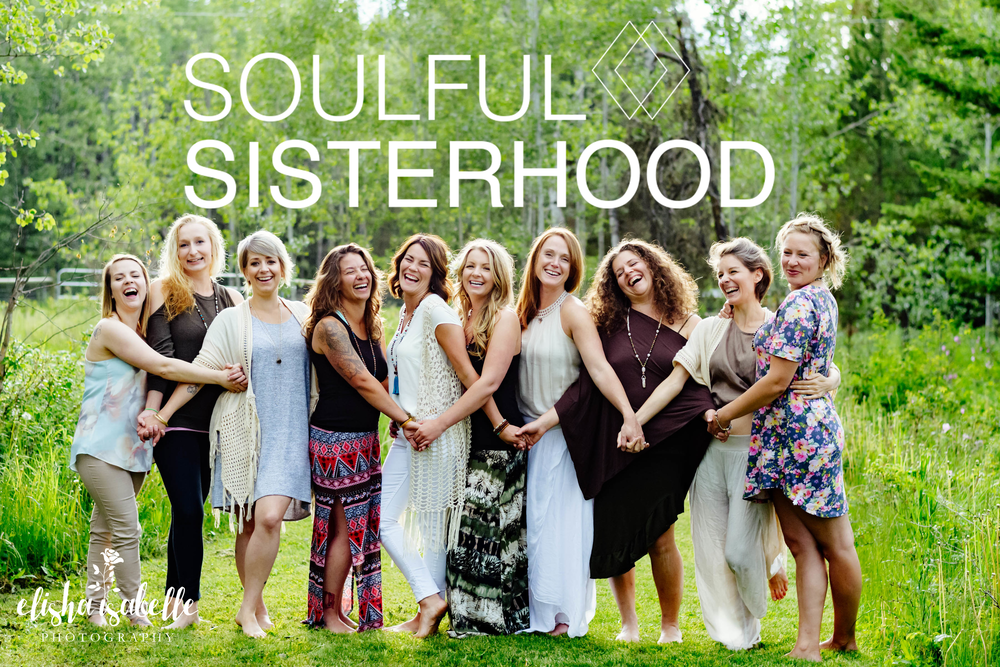 Soulful Sisterhood Group Photo Laugh