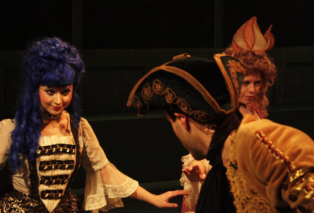 Emily Jeanne Brown as Ensemble in  Restoration Comedy , The Flea Theater, 2012 (Loren Shaw)