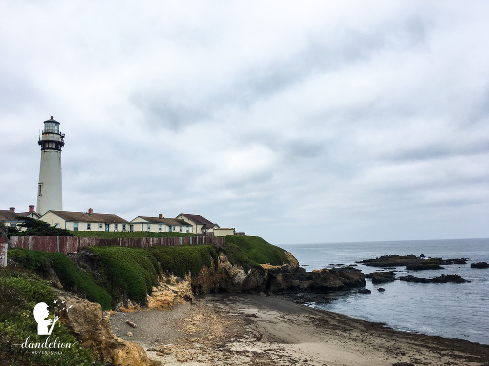 Pigeon Point Lighthouse en route to Carmel, CA