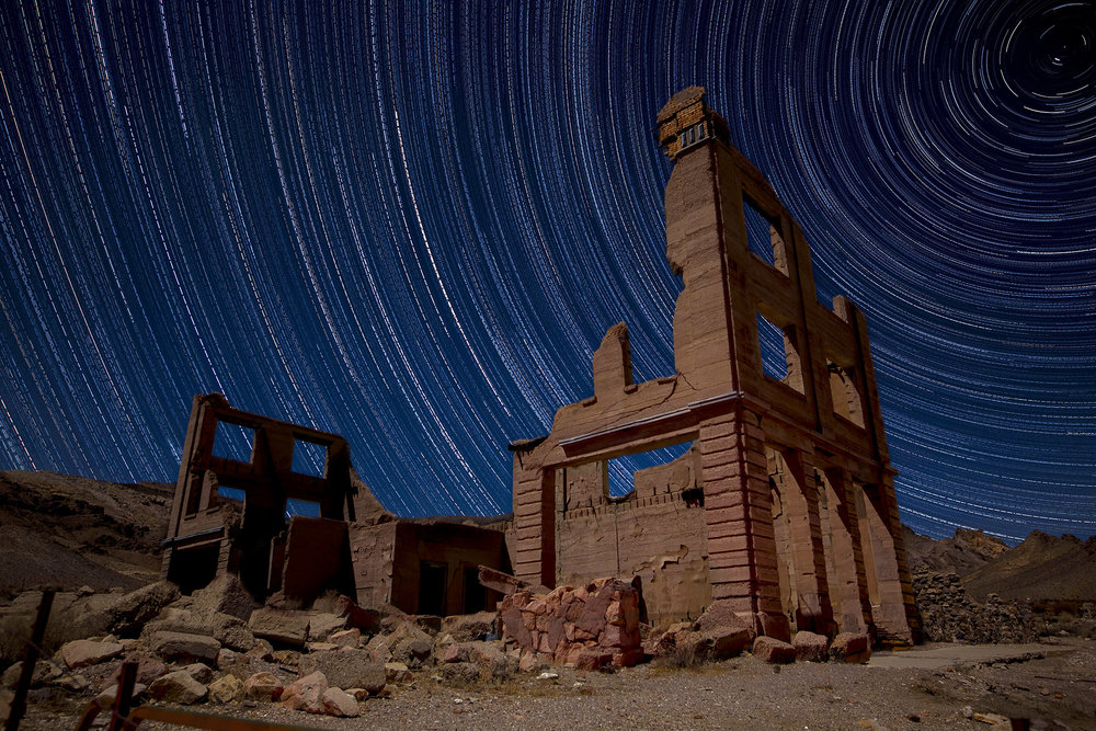 Rhyolite ghost town, Nevada