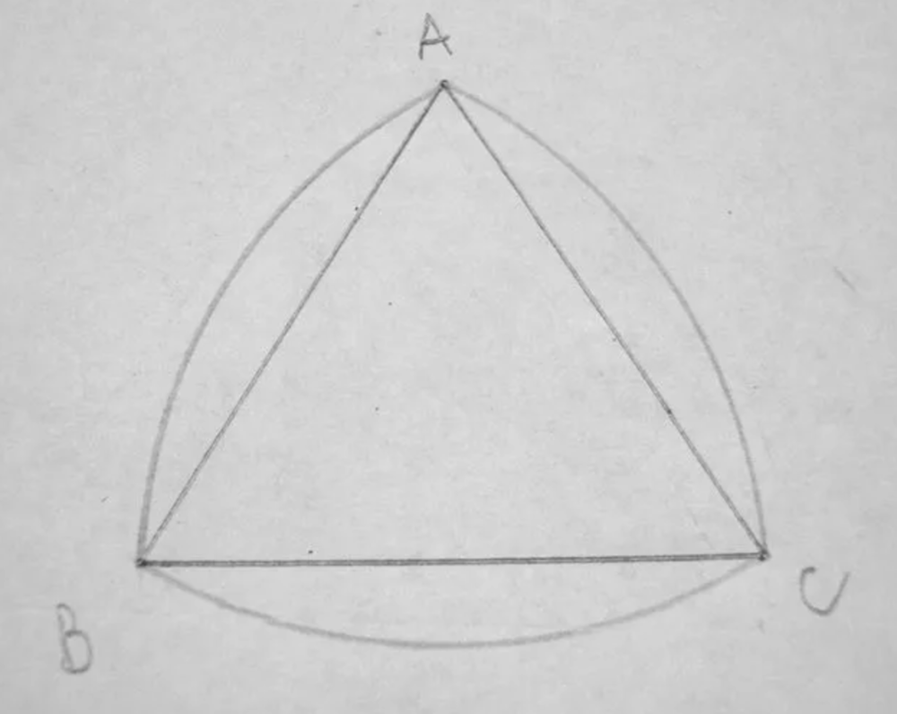 Drawing an Reuleaux Triangle