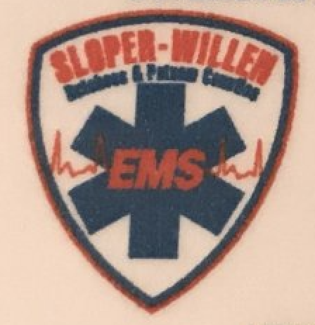 Ambulance shoulder patch.