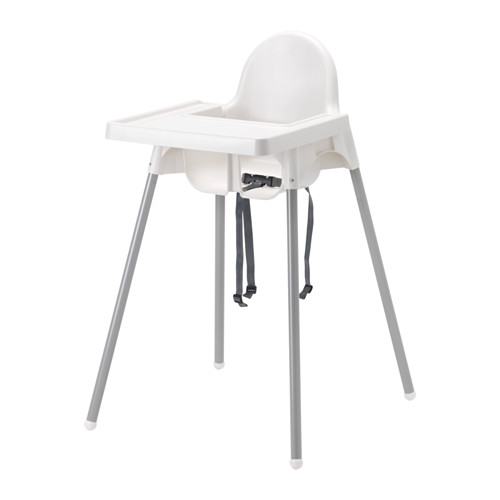THIS. HIGH CHAIR. YOU GUYS. I can't say enough good things about it... and its $20. Like most IKEA things, you have to assemble it - I did it in 5 minutes. Get it   here  .