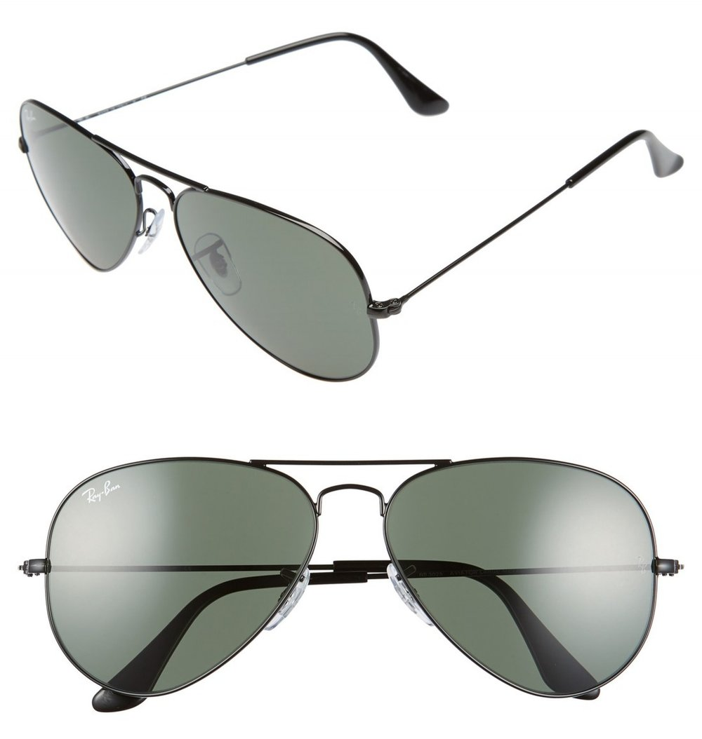 ORIGINAL AVIATORS - You can't ever go wrong with the classics. EVERYONE looks good in these!!