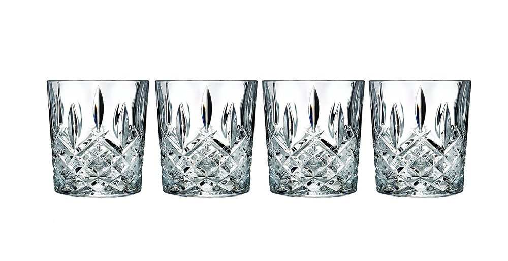 4 OLD FASHIONED GLASSES - These are beautiful and have almost 700 reviews on Amazon!