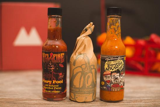 HOT SAUCE SUBSCRIPTION - This is such a fun idea for your partner or dad... if they like their food on the spicy side of course. Get $10 off your first box.