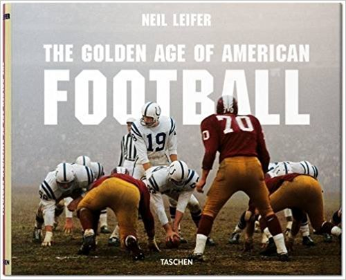 LEIFER: THE GOLDEN AGE OF AMERICAN FOOTBALL - If your partner or dad is a football fanatic like mine... this would be a super cool/unexpected gift. It has great reviews on Amazon.