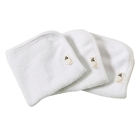 Burt's Bees Baby Washcloths - Organic cotton. These are so soft and perfect for bath time. Find them HERE.