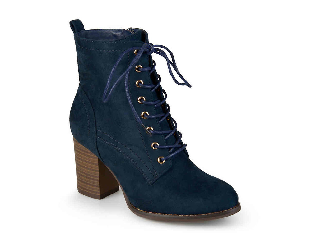 I'm a big fan of lace up booties! More color options available.