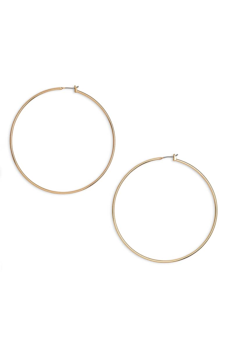 a really good pair of hoops.