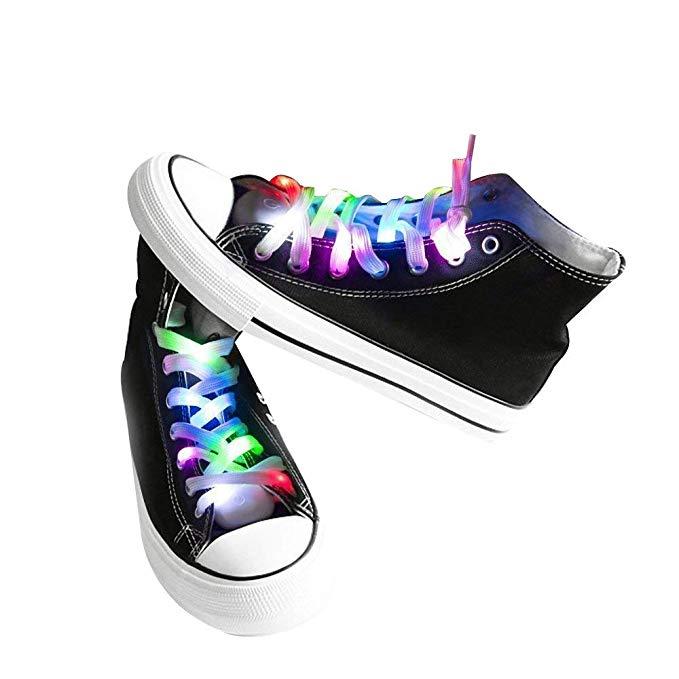 LED shoe laces