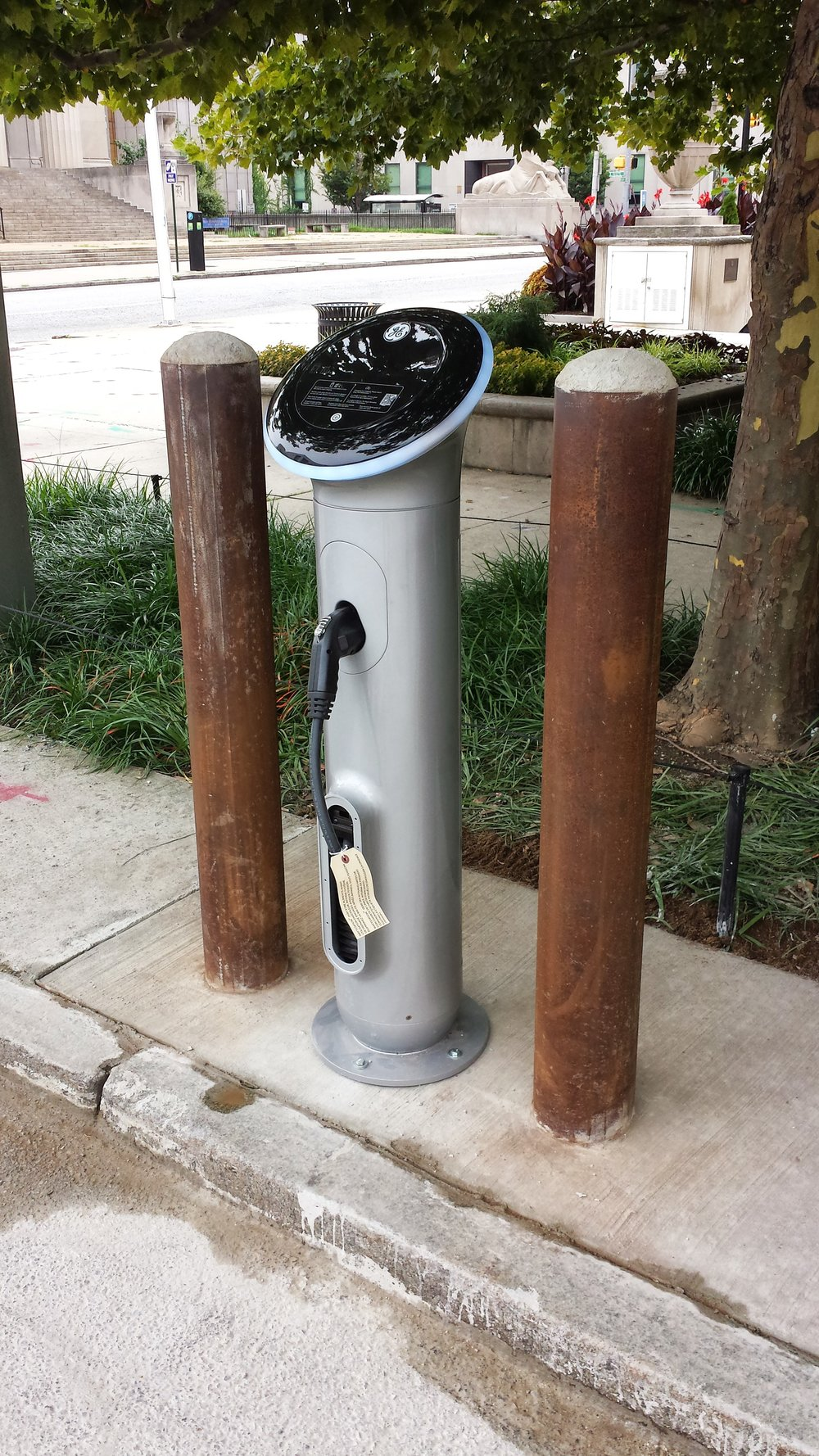 Baltimore City, City Hall Charging Station