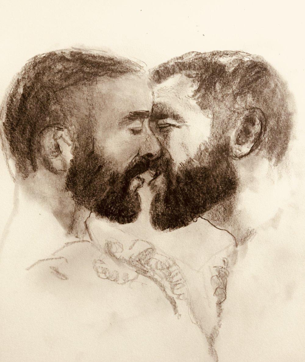 Study of a Kiss