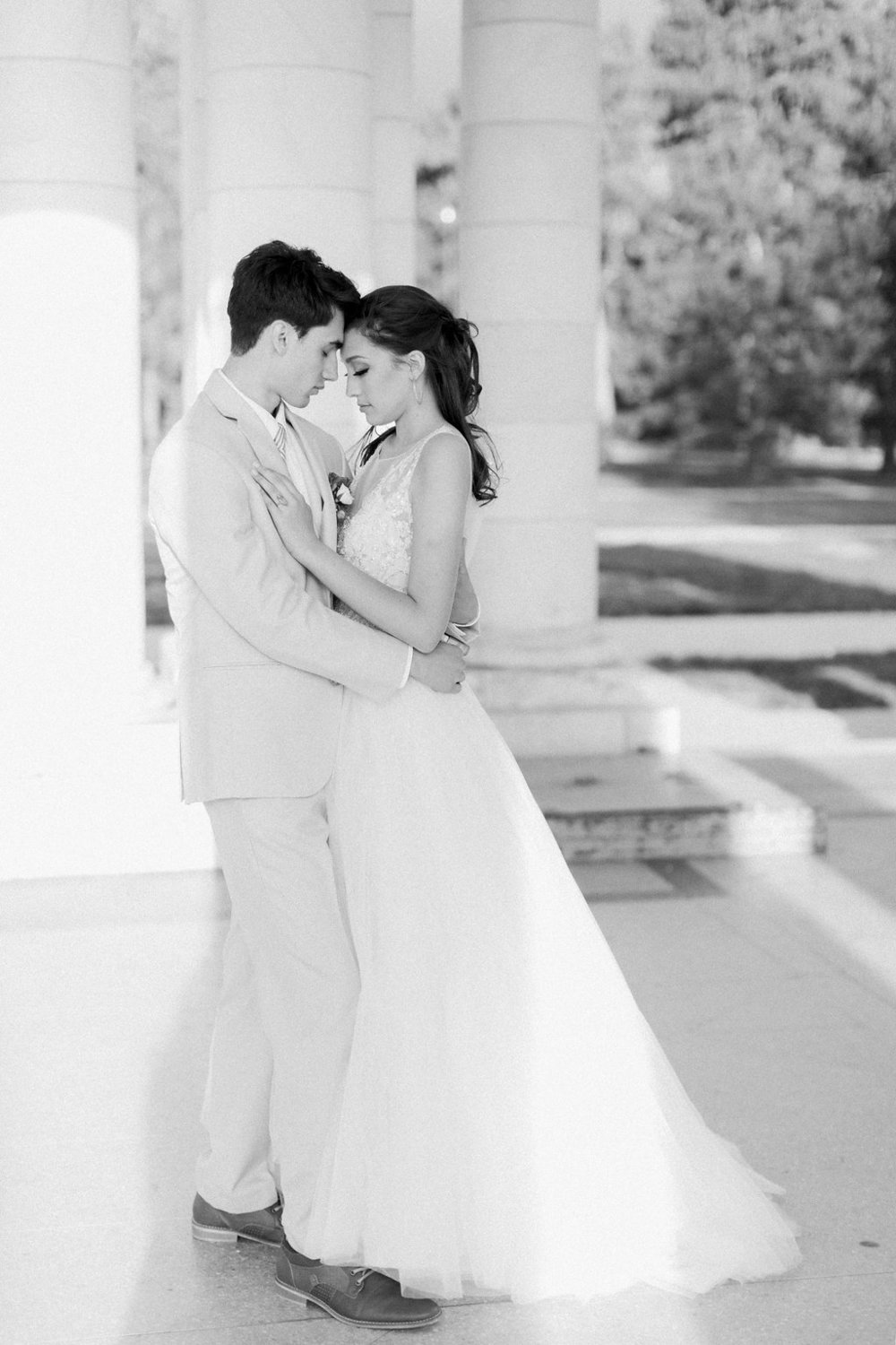 Bride & Groom share a special moment