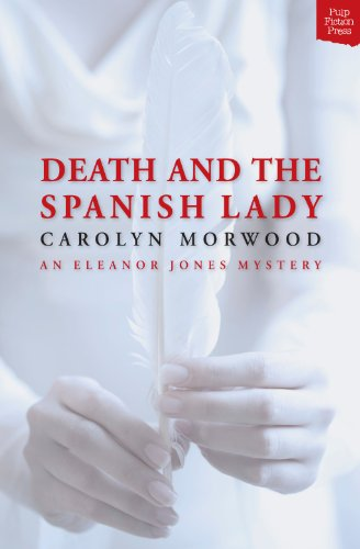 Death and the Spanish Lady An Eleanor Jones Mystery #1  Melbourne, 1919.  Sister Eleanor Jones, returned from the Great War, is once again risking her life. In the temporary hospital set up in the grand Melbourne Exhibition Building, she faces the deadliest of diseases: the Spanish 'Flu. And many are dying.  But there is one death unlike all the others on the makeshift ward, inflicted by poison.   And hiding behind the gauze masks designed to stop infection, someone is intent on adding to the death toll.  Can Eleanor create a trap to reveal a killer...?