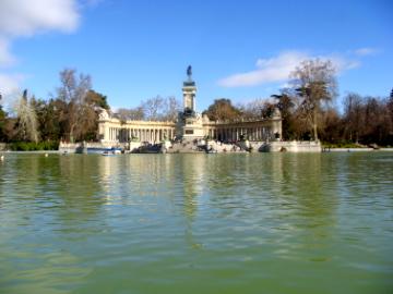 Parque Retiro Lago Blog