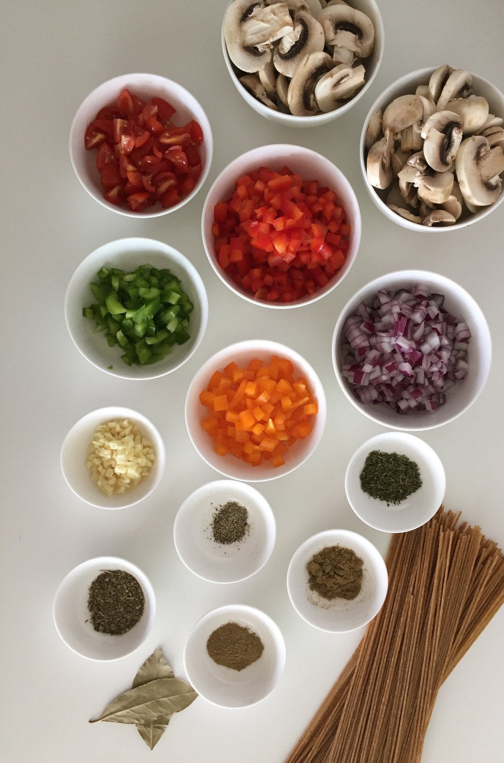 Ingrdientes Pasta Salsa Roja con Zetas y Espinacas Sin Salsa y Espinacas Blog