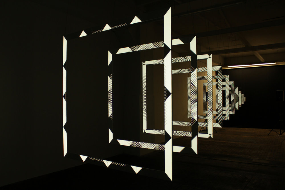 Kit Webster Enigmatica projection mapping sculpture