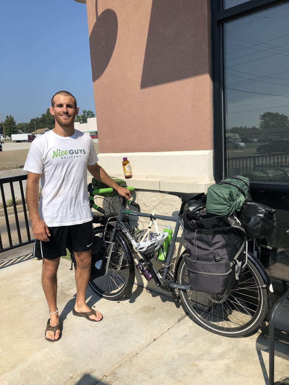 High Mileage Tour - Article 2: Biking across America to help end cannabis stigma