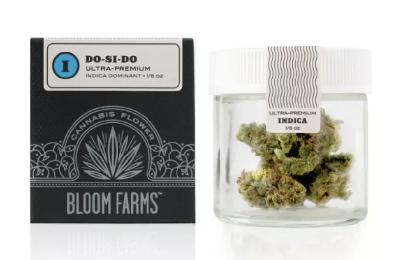 Bloom Farms | Do-Si-Dos - HYBRID INDICA | THC: 21.80% | CBD: .04%
