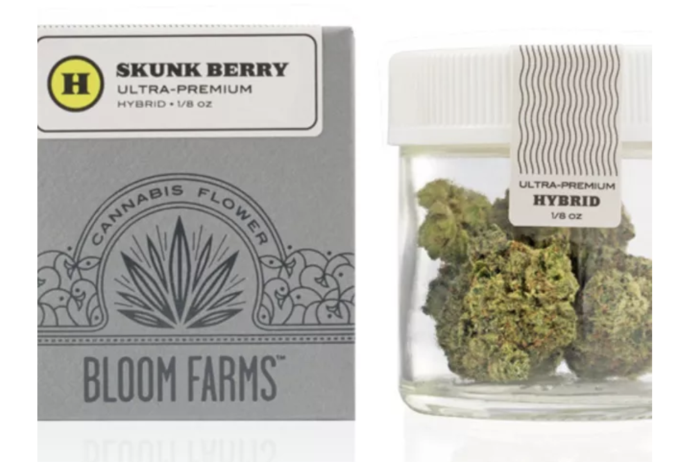 Bloom Farms | Skunk Berry - HYBRID | THC: 22.04% | CBD: .05%