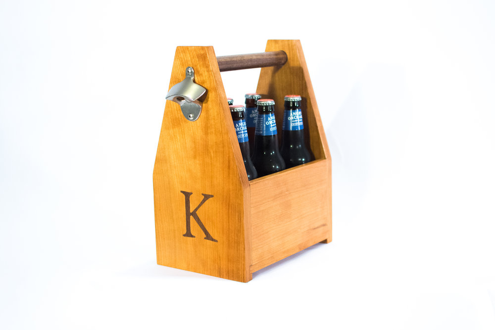 P ersonalized Drink Carriers