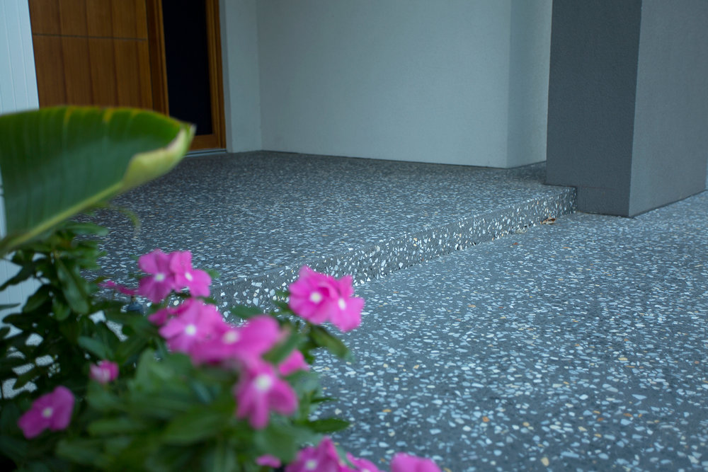 Sorrento Stone. Perth Concrete Specialists. Honed Concrete.