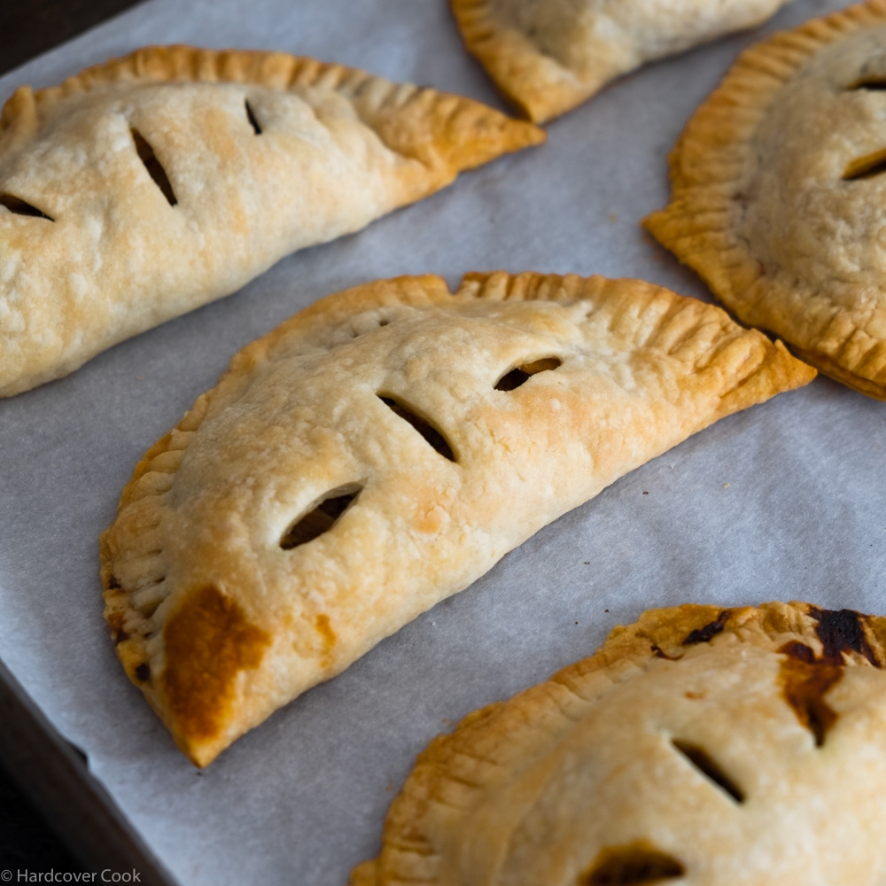 Cabbage and Mushroom Hand Pies