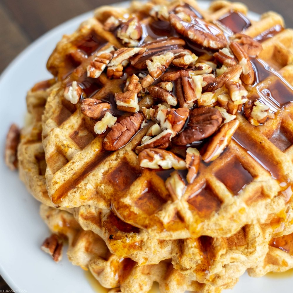 Aracely's Sweet Potato Waffles from Roots