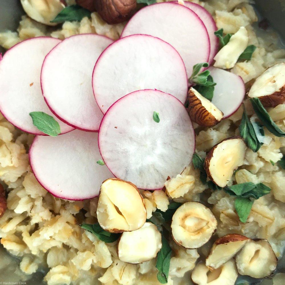 Miso Oat Porridge from Near & Far