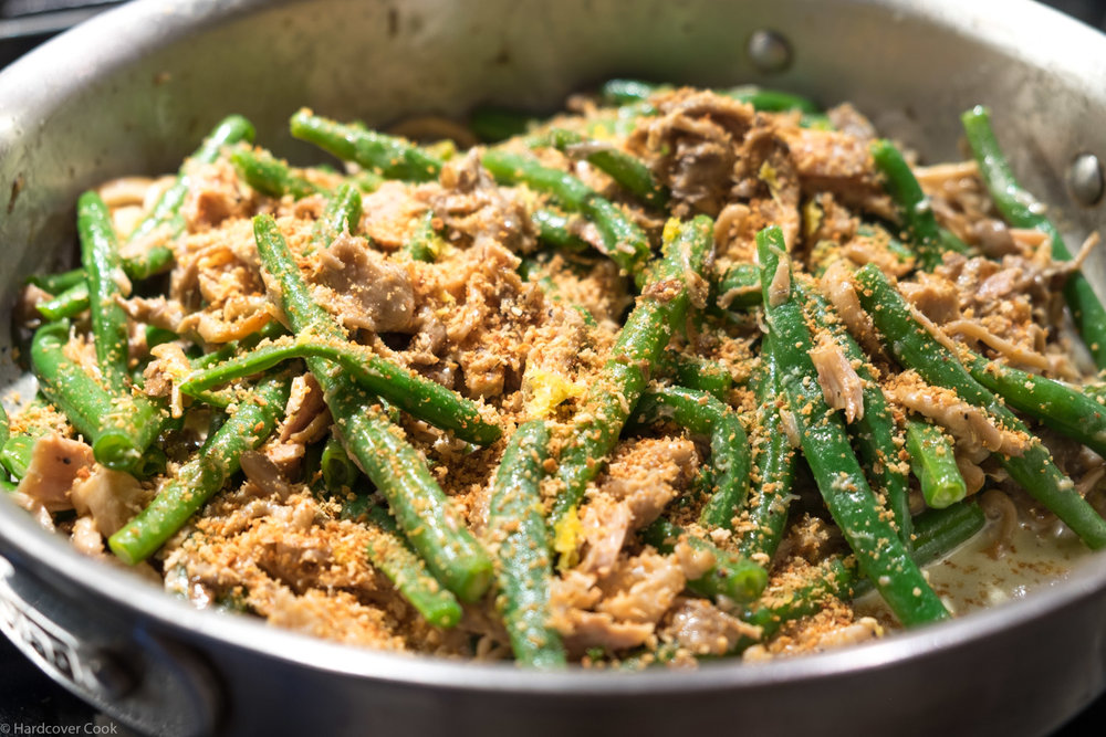 "Green Bean, Tuna, and Mushroom ""Casserole"" from Six Seasons"