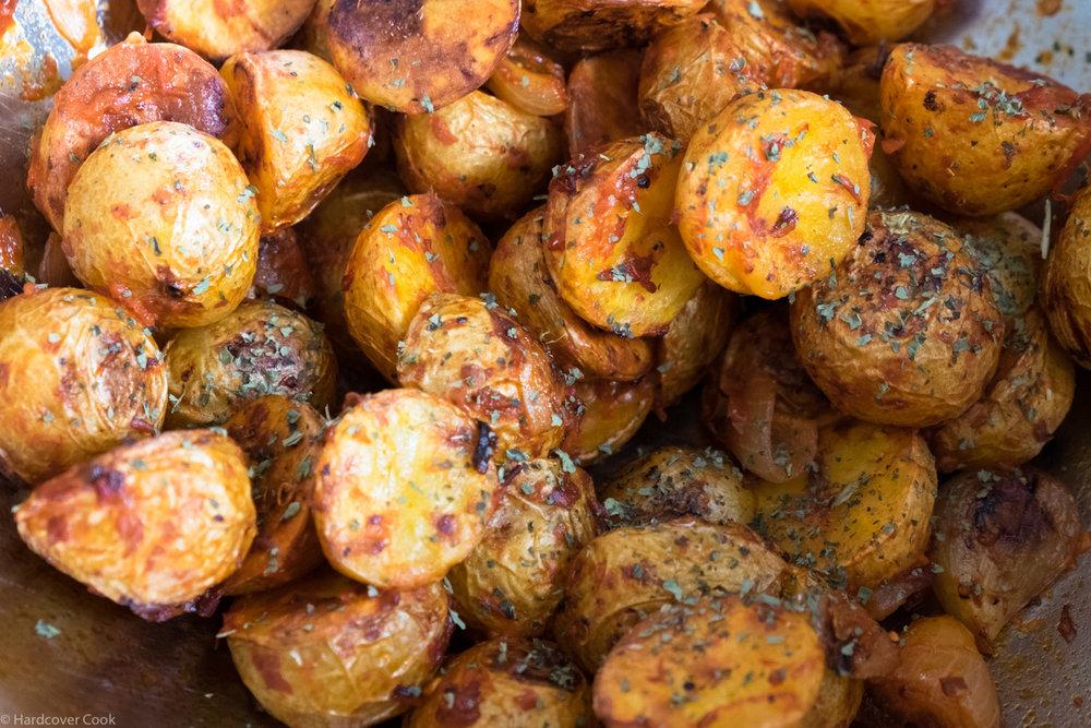 Harissa Roasted Potatoes from Milk Street