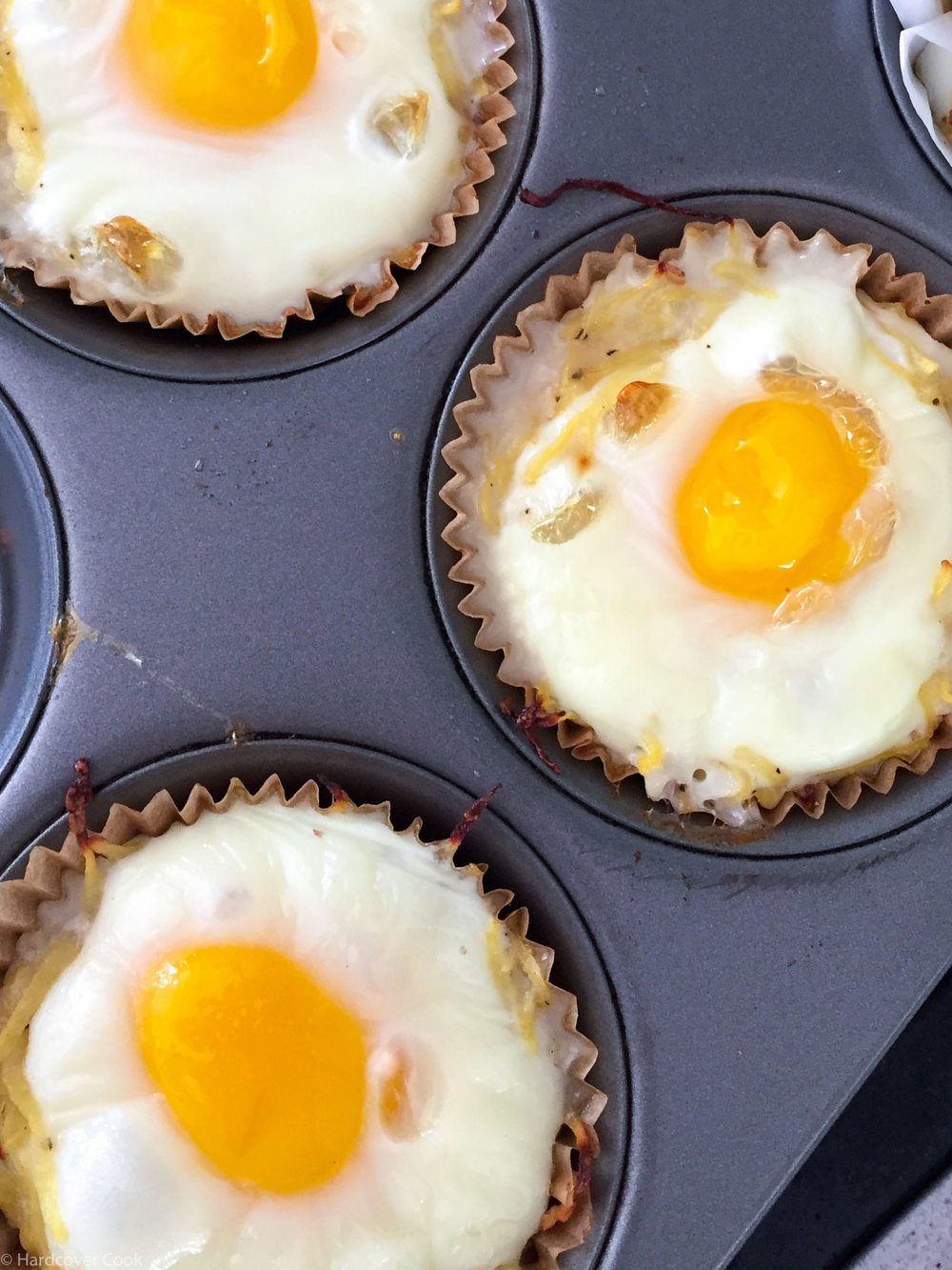 Spaghetti Squash and Dill Egg Cups from Fed & Fit