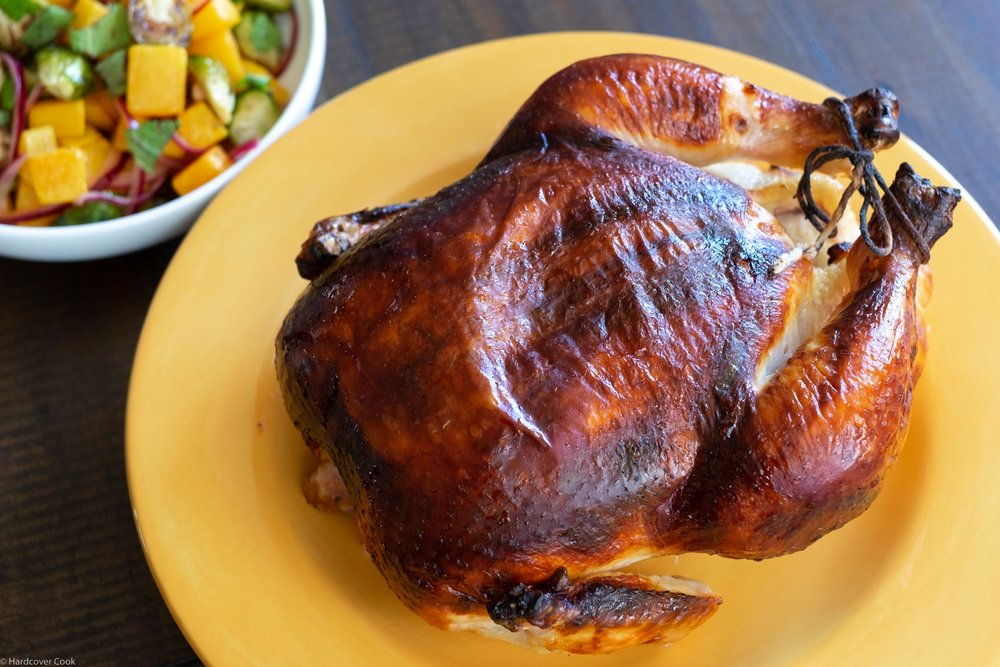 Buttermilk Marinated Roast Chicken from Salt Fat Acid Heat
