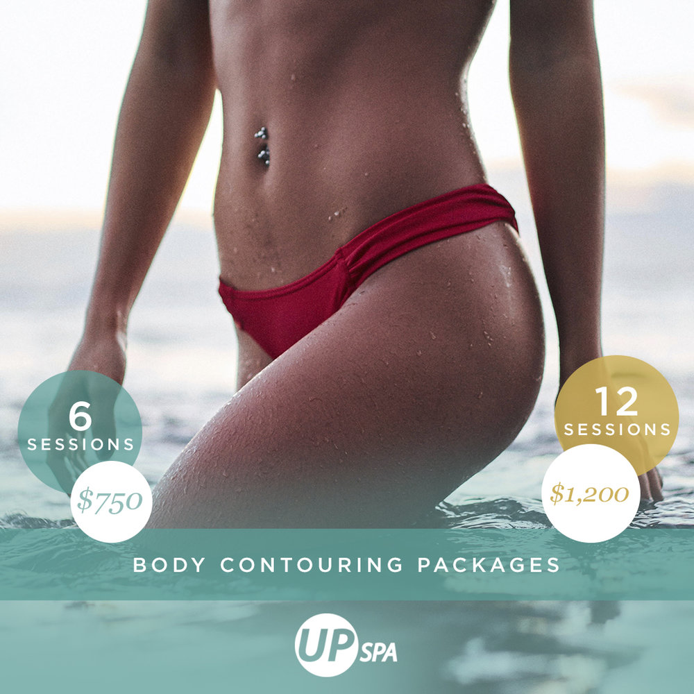 New You NOW!   Purchase ANY  Body Contouring Package  by 12/1/18  and receive 10% ENTIRE PACKAGE!  Are you #BodyGoals?