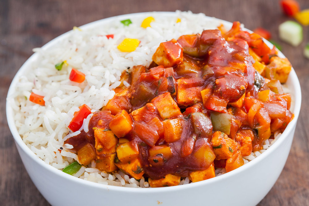 Sriracha Rice Bowl