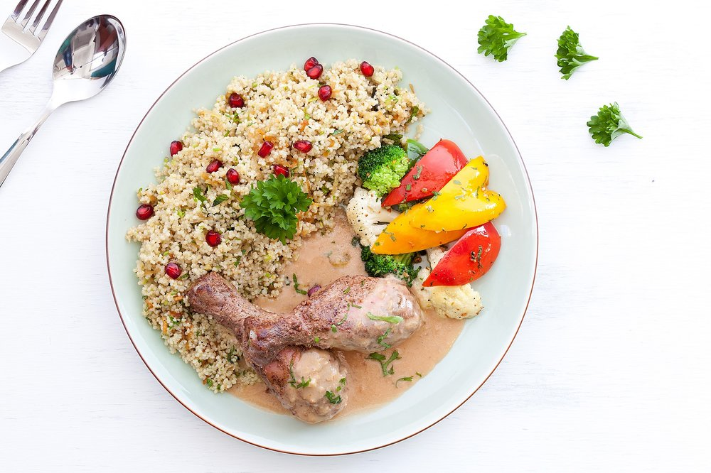 _18FMIMG_2717_Sumac Roasted Chicken with Millet Pilaf (Non Veg).JPG