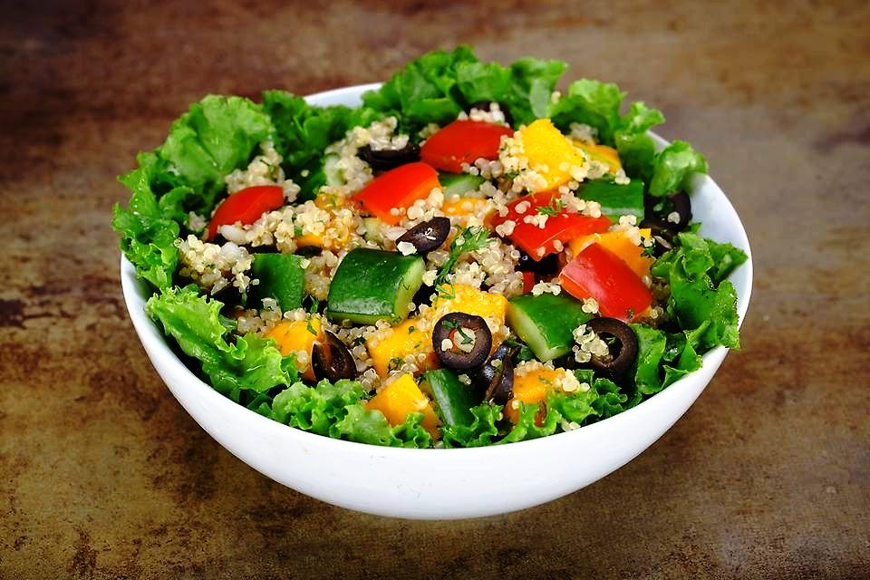 Quinoa Mango Salad - 195 kcal (Veg).jpg