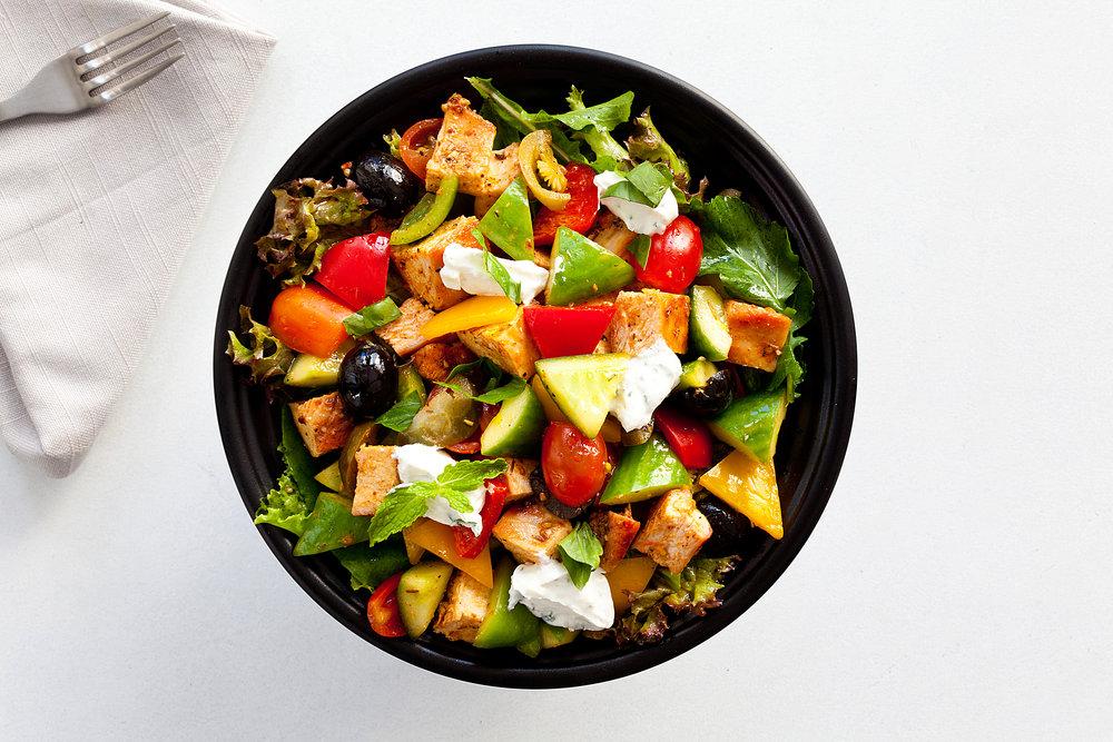 Keto Peri Peri Chicken Salad - 275 kcal (Non Veg) (1).JPG