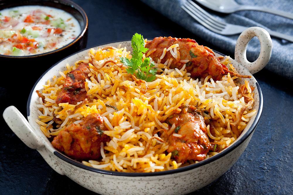 Rajkot Chicken Biryan