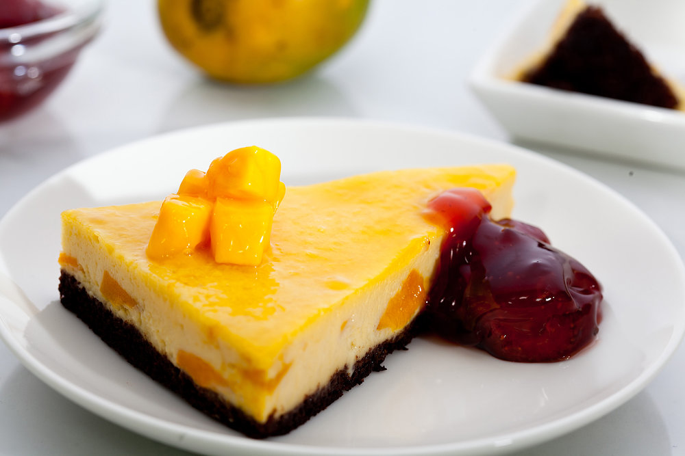Mango Brownie and Cheescake.JPG