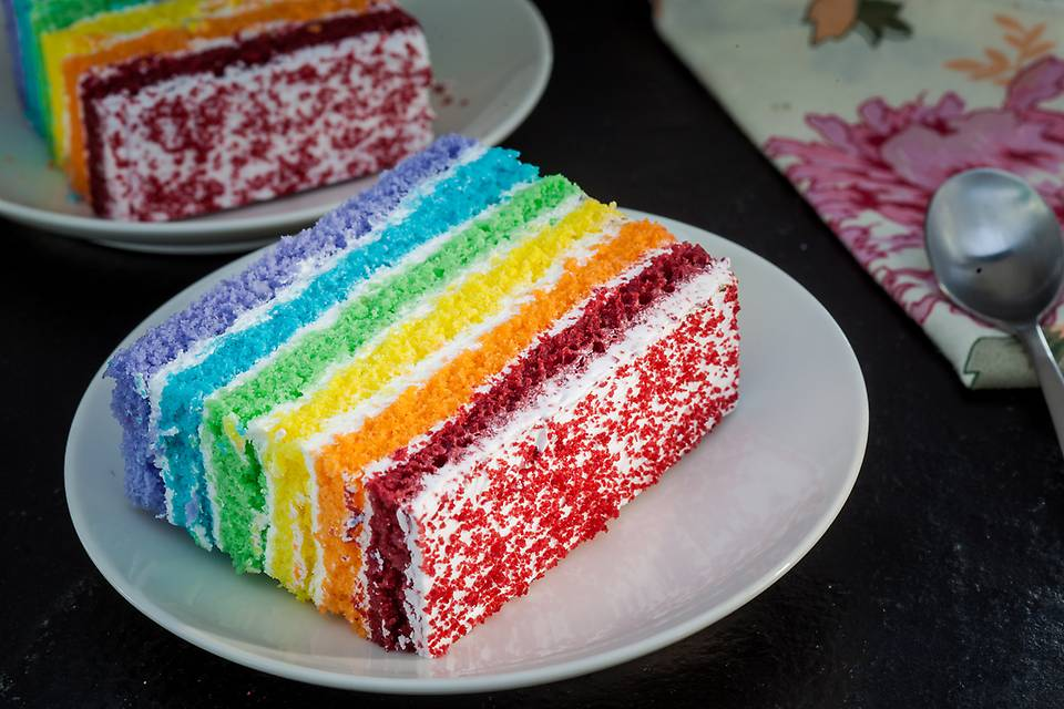 Our Rainbow pastry