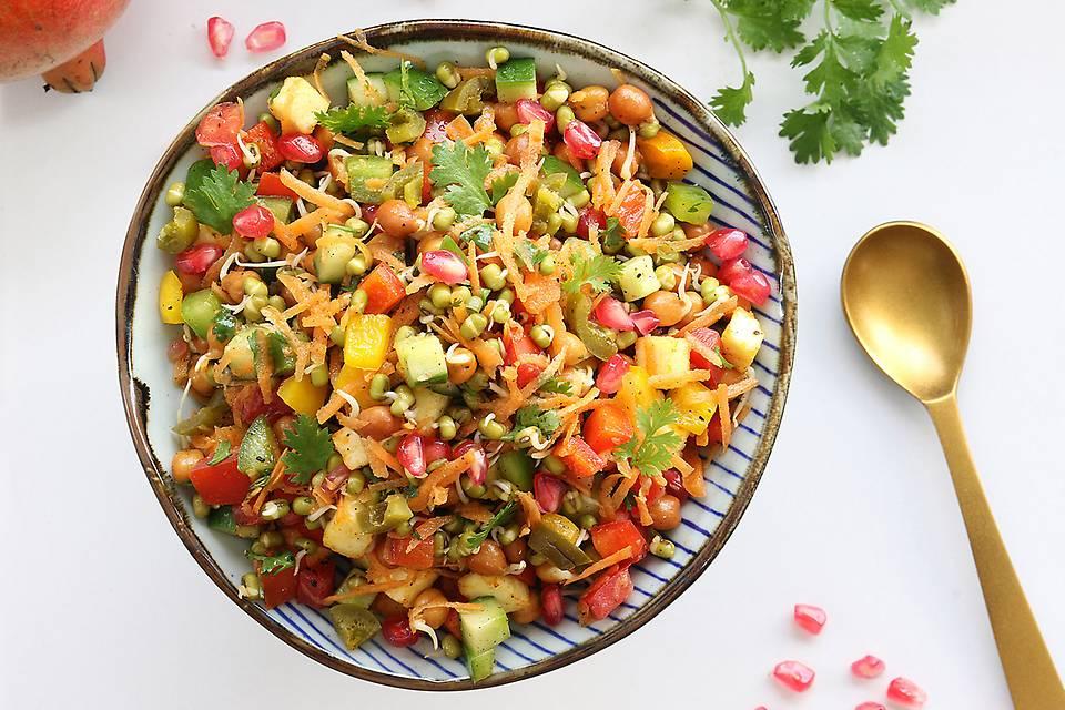 Hawaiian Sprouts Salad