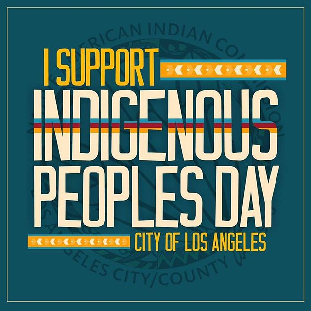 Los Angeles City Council meeting is today! Please attend and let your voice be heard! For tomorrow's final vote, we will be holding a rally at 9AM before moving to the council meeting. Please join! Event link in bio. #IndigenousPeoplesDayLA
