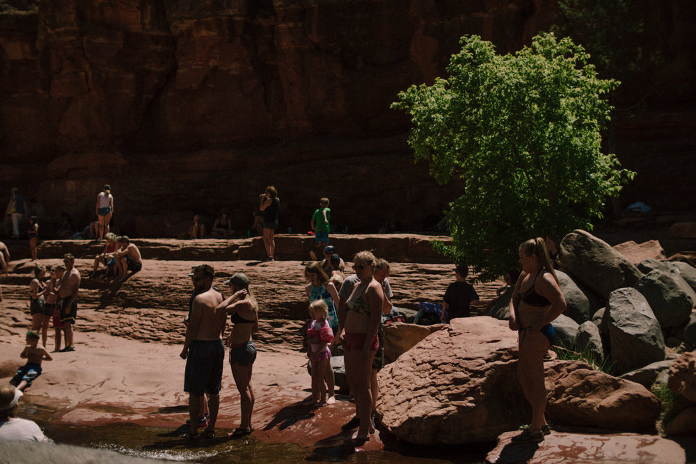 Sedona Crowd