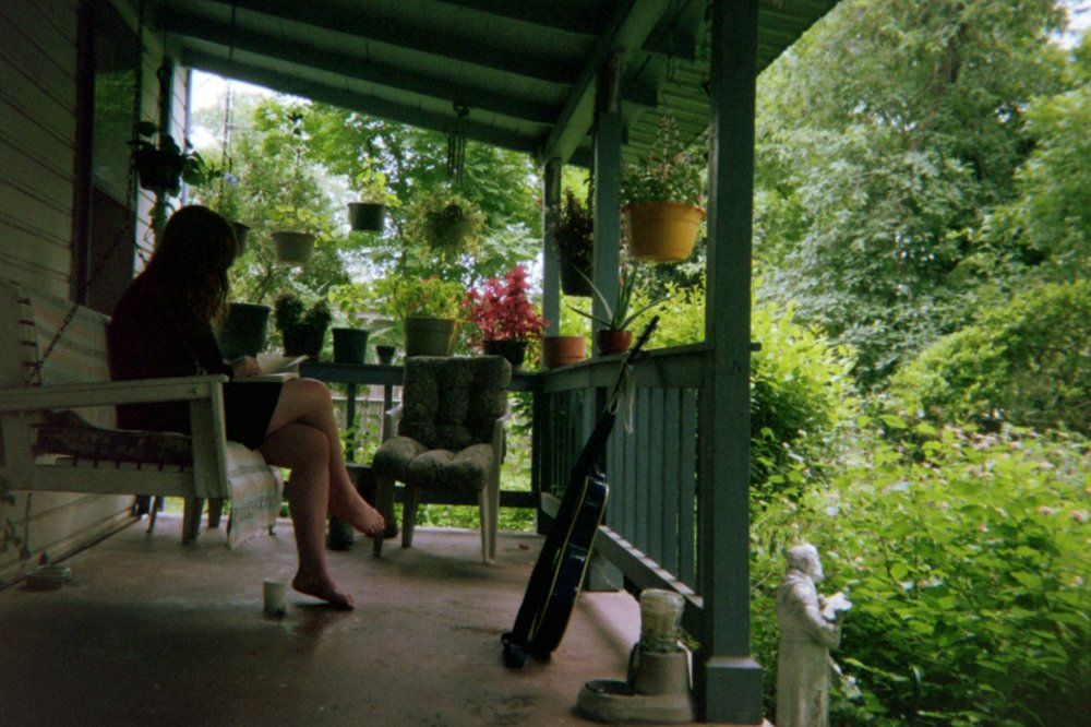 Porch Morning in Austin, TX, 2017